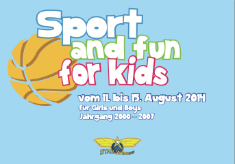 Starwings Sport and fun for kids 2014